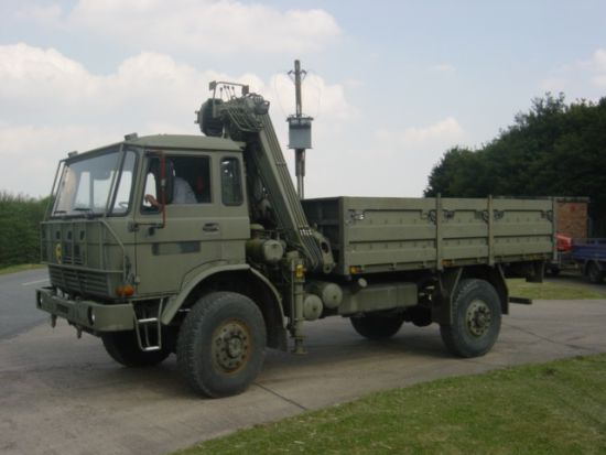 DAF YA4440 4x4 Crane Truck LHD with Atlas Crane | used military vehicles, MOD surplus for sale
