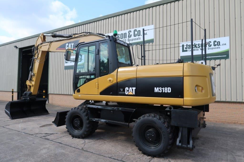 Caterpillar 318D Wheeled Excavator |  EX.MOD direct sales