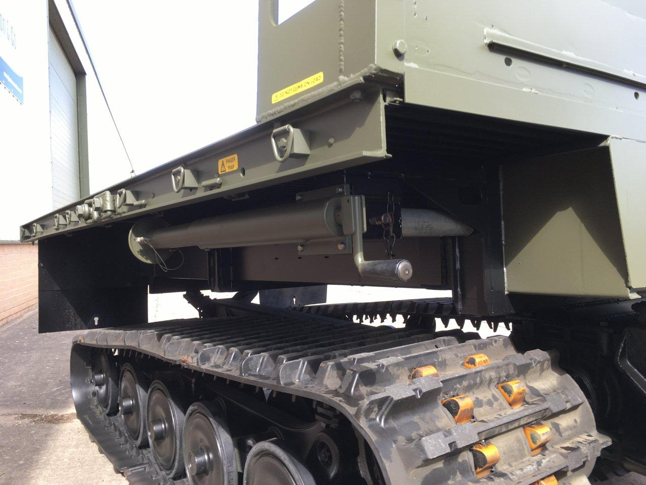 Hagglunds Bv206 Load Carrier with Crane | used military vehicles, MOD surplus for sale