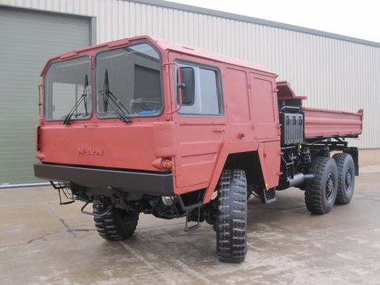 WAS SOLD MAN 453 6x6 Tipper Truck
