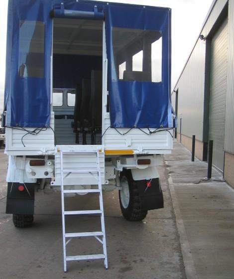 Mercedes unimog U1300L canopy personnel carrier truck for sale