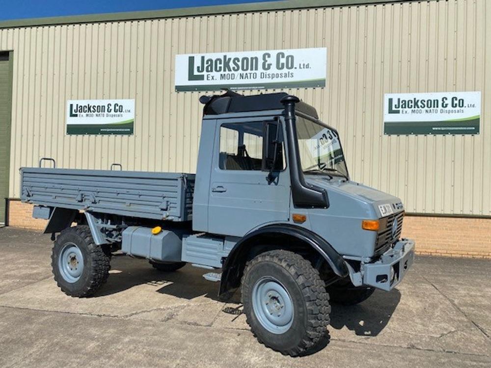 Mercedes Unimog U1300L 4x4 LHD Cargo Truck - road registered  military for sale