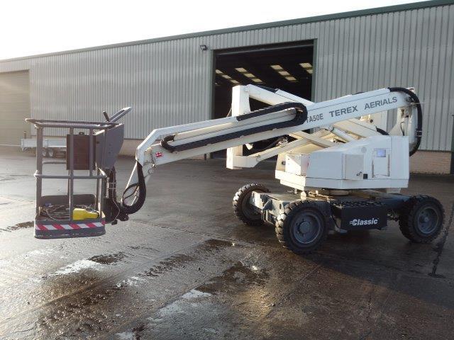 WAS SOLD Terex TA50E boom lift