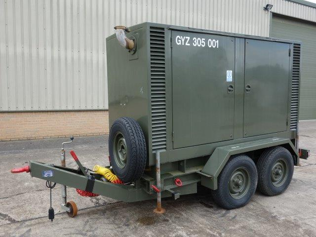 Hunting 150 KVA Trailer Mounted Generator for sale | military vehicles