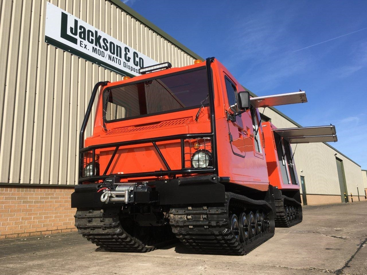 Hagglund BV206 Multi-Purpose Vehicle | Military Land Rovers 90, 110,130, Range Rovers, Mercedes for Sale