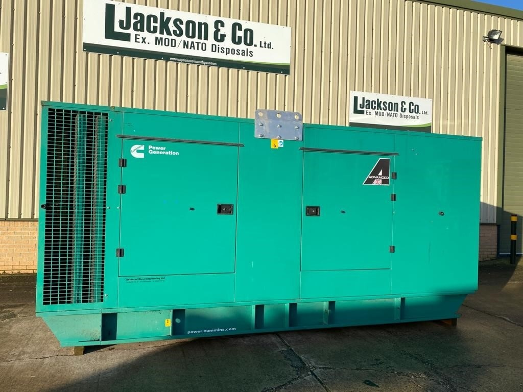 WAS SOLD Cummins 550 KVA Generator 2018