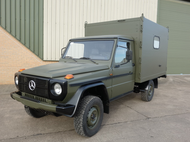 Mercedes GD250 G Wagon 4x4 Box Vehicle | Military Land Rovers 90, 110,130, Range Rovers, Mercedes for Sale