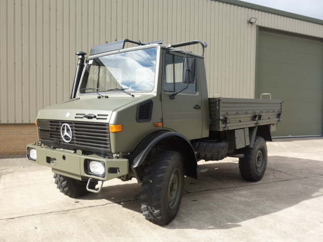 Mercedes Unimog U1300L Turbo LHD | used military vehicles for sale