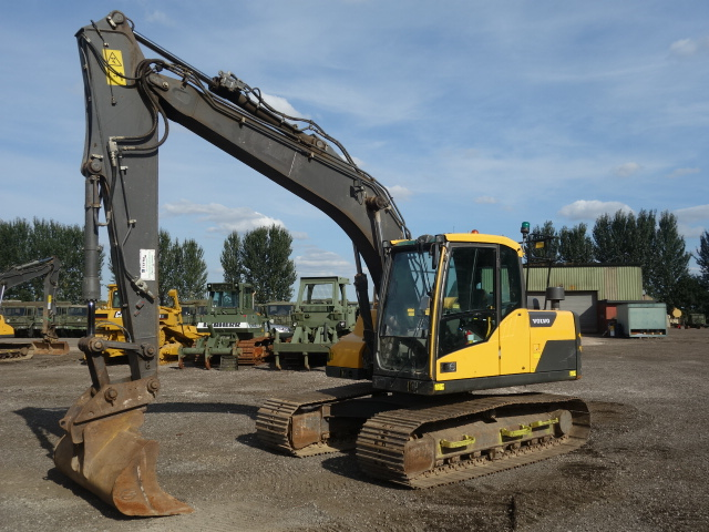 SOLD Volvo EC140 DL Excavator | used military vehicles, MOD surplus for sale