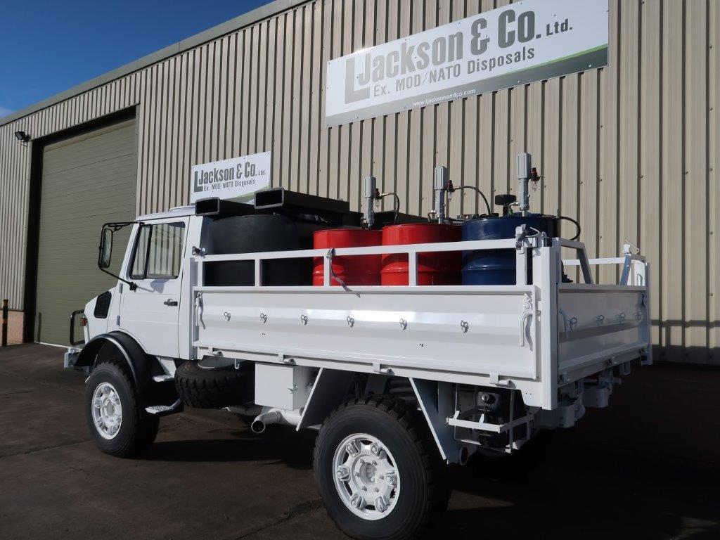 Mercedes Unimog U1300L 4x4 RHD Service Truck for sale