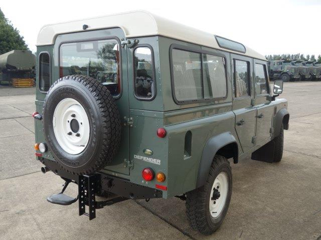 Land Rover Defender 110 TDCi Station Wagon RHD  for sale . The UK MOD Direct Sales