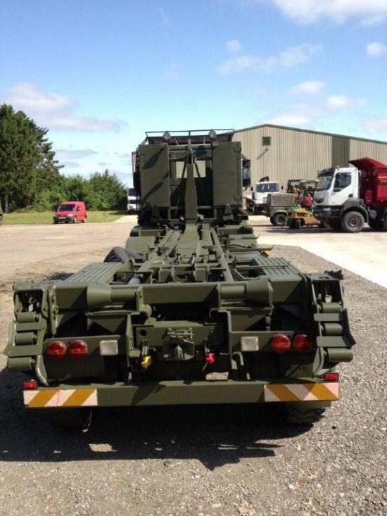 Iveco 410E42 EUROTRAKKER  8X8 LHD hook loader with multilift system | used military vehicles, MOD surplus for sale