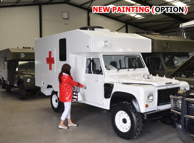 Land Rover 130 Defender Wolf RHD Ambulance price