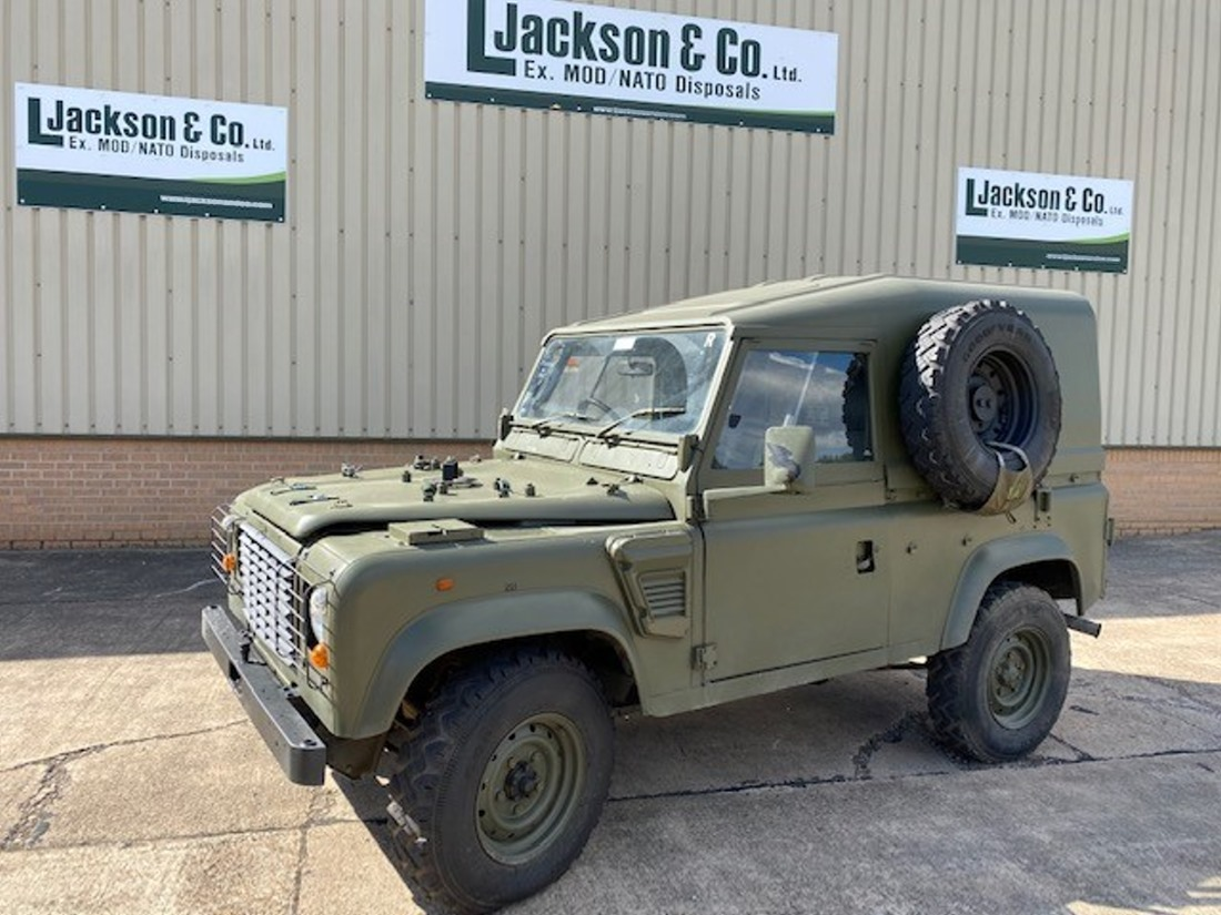 WAS SOLD Land Rover Defender 90 Wolf RHD Hard Top (Remus)