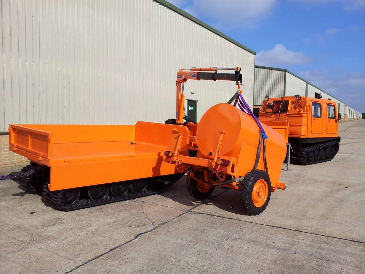 Hagglund  BV206 Cargo Carrier with Crane for sale