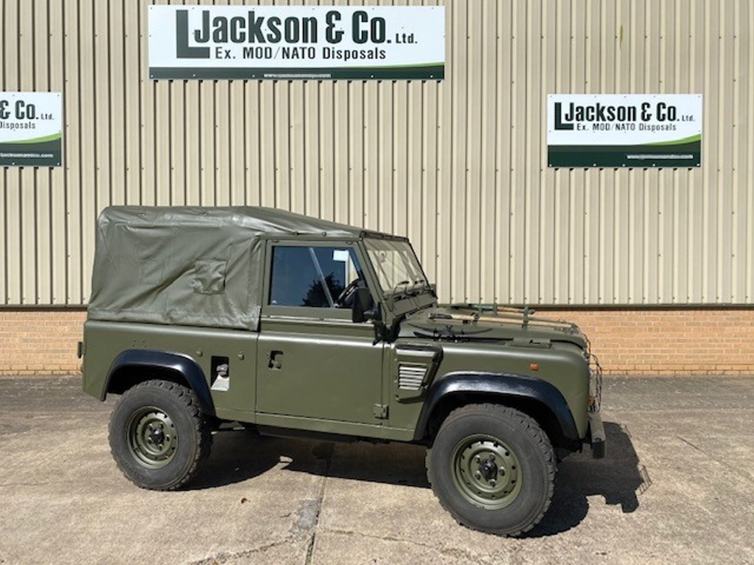 Land Rover Defender 90 Wolf RHD Soft Top (Remus) | Military Land Rovers 90, 110,130, Range Rovers, Mercedes for Sale