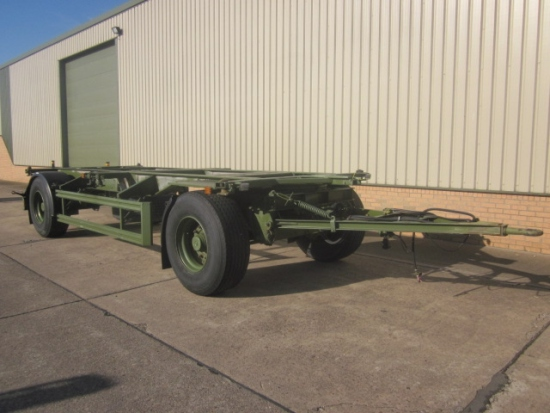 SOLD Eichkorn 20ft 20,000 kg container trailer | used military vehicles, MOD surplus for sale