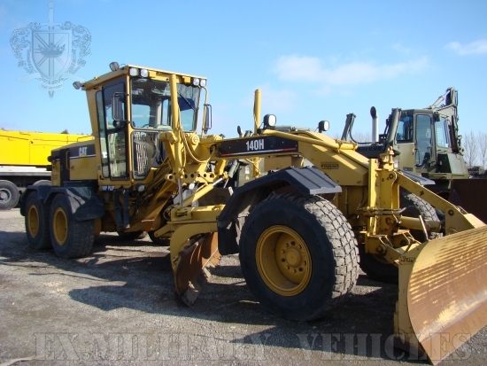 WAS SOLD Caterpillar 140H Motor Grader