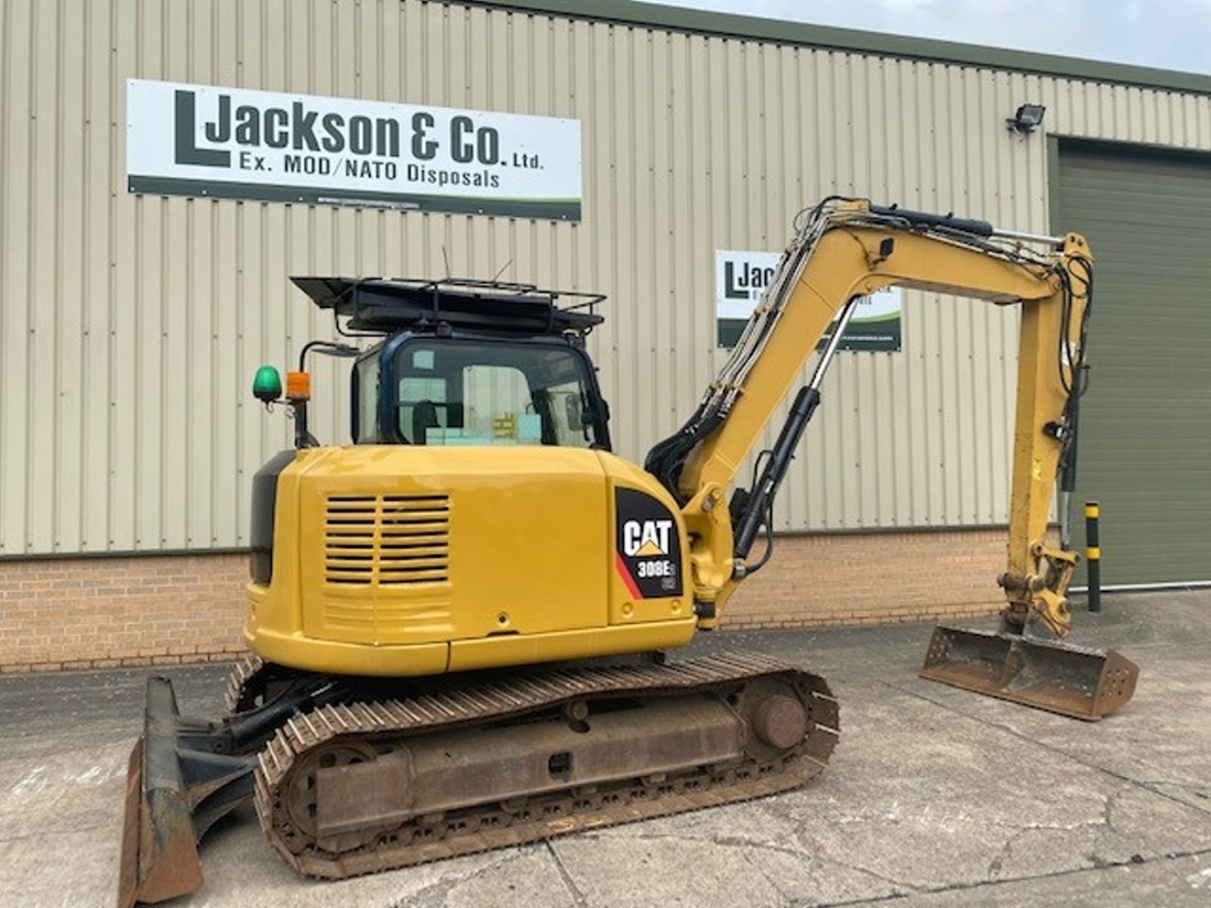Caterpillar 308E 2CR Tracked Excavator   used military vehicles, MOD surplus for sale