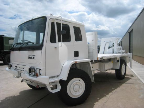 DAF YA4440 LHD ex military  cargo trucks fitted with Atlas crane |  EX.MOD direct sales