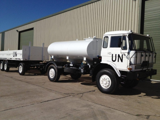 The DAF YA4440 4x4 tanker truck  4,000 Lt | used military vehicles for sale
