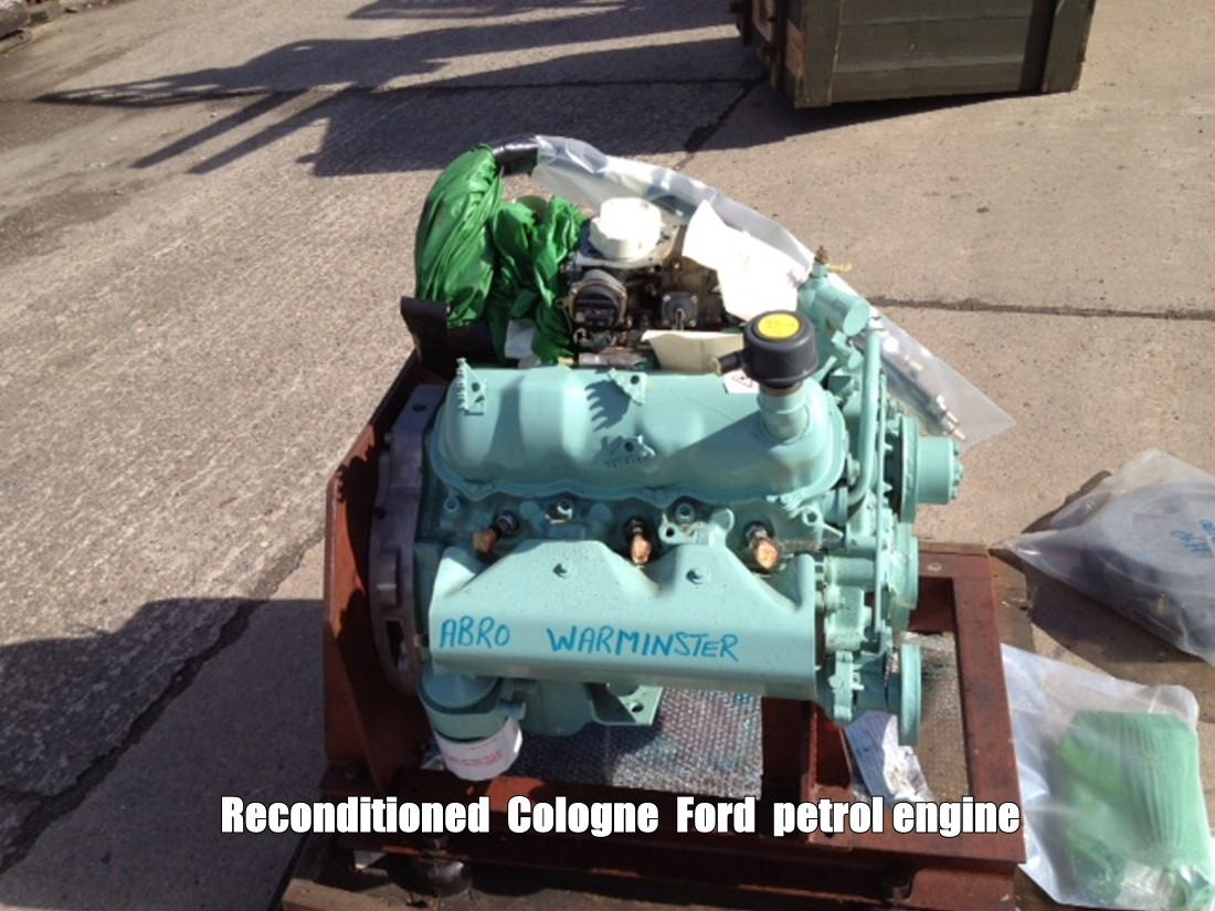 Used  FORD Petrol  V6  engine 2.8 lt as fitted to Hagglund BV206 for sale | military vehicles