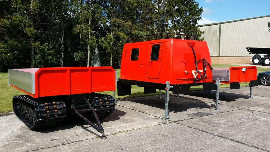Hagglund Bv206 with multiple interchangeable bodies for sale