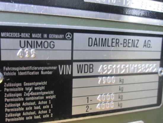 Mercedes Unimog U1300L 4x4 Ambulance | used military vehicles, MOD surplus for sale