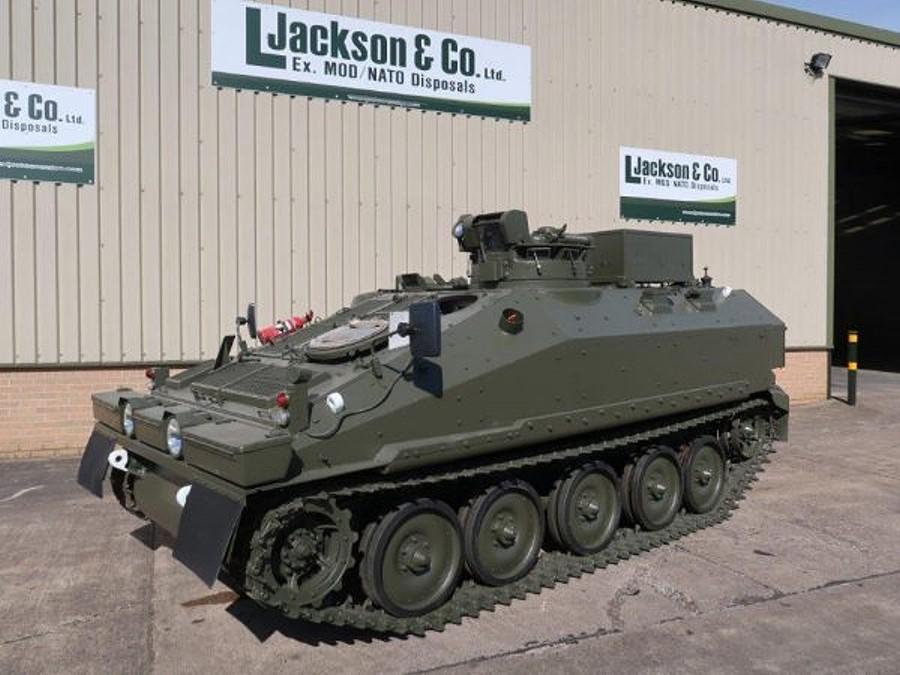 Spartan FV103 CVRT Armoured Personnel Carrier
