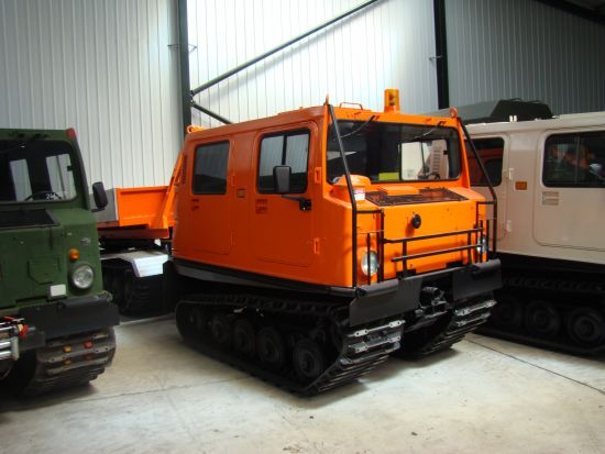 Hagglunds  BV206 Cargo Carrier with Crane  for sale . The UK MOD Direct Sales