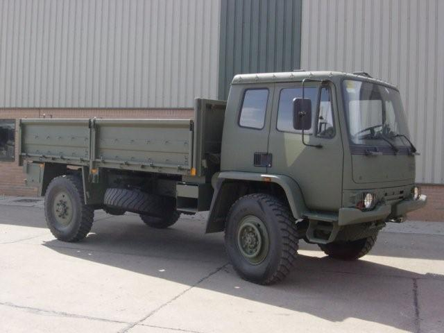 Leyland DAF 45.150  4x4 Drop Side Cargo Truck | used military vehicles, MOD surplus for sale