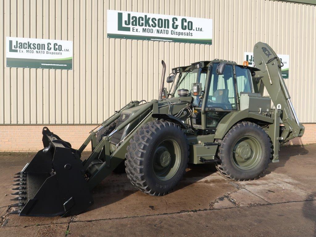 WAS SOLD JCB 4CX Military Backhoe loader