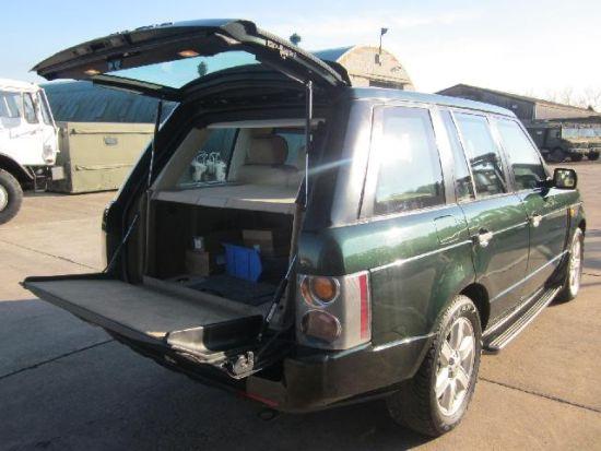 Armoured Range Rover vogue LHD V8 for sale