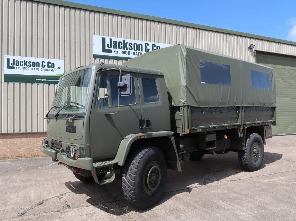 Leyland Daf 45.150 4×4 Troop Carrier/shoot with Canopy & Seats for sale | military vehicles
