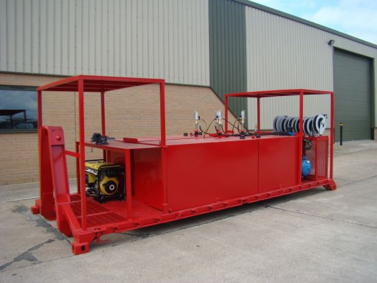 De-mountable Skid Lube / Service Station  for sale . The UK MOD Direct Sales