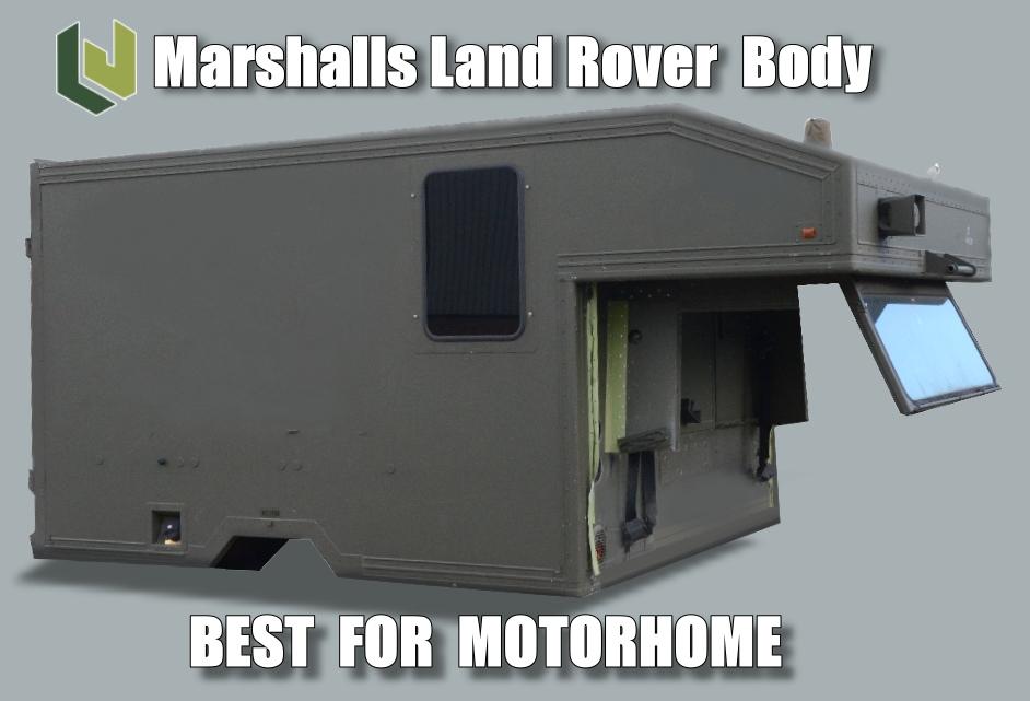 Marshalls Land Rover 130 Ambulance Body