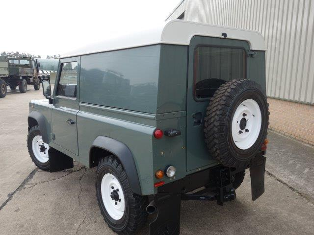 Land Rover Defender 90 TDCi Hard Top | used military vehicles, MOD surplus for sale