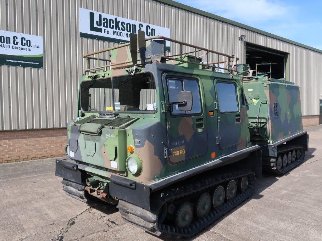 Hagglund BV 206 hardtop Radio Vehicle
