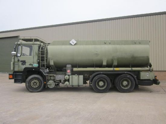 Man 25.322 6x4 LHD tanker truck | used military vehicles for sale