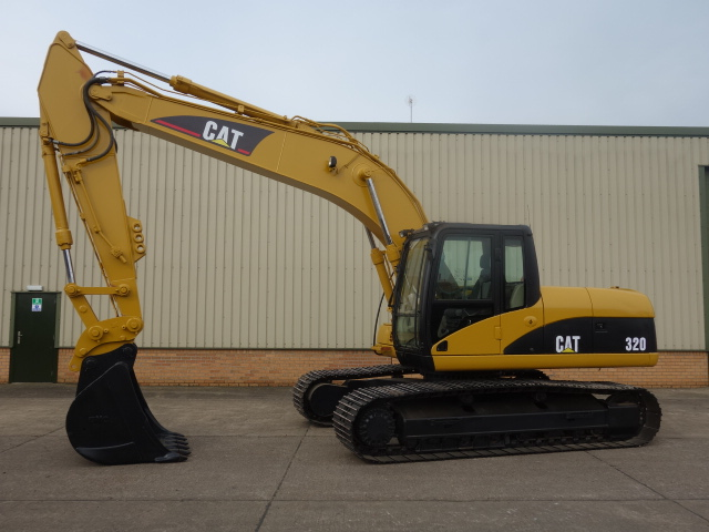 WAS SOLD Caterpillar 320 CL Tracked Excavator