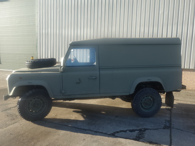 Land Rover Defender 110 300Tdi hard top  for sale. The UK MOD Direct Sales