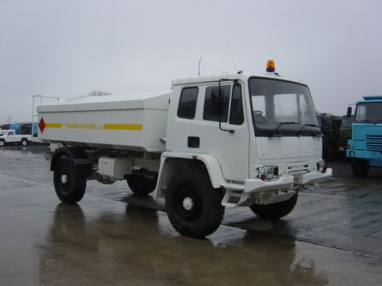 Leyland DAF Military 4x4 Bunded Tanker Truck | used military vehicles for sale