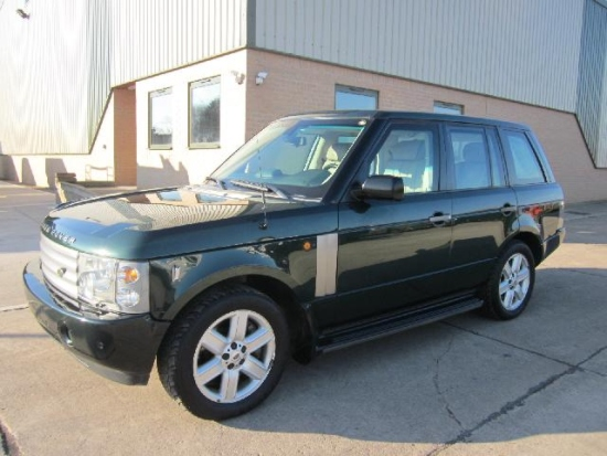 Armoured Range Rover vogue LHD V8 price