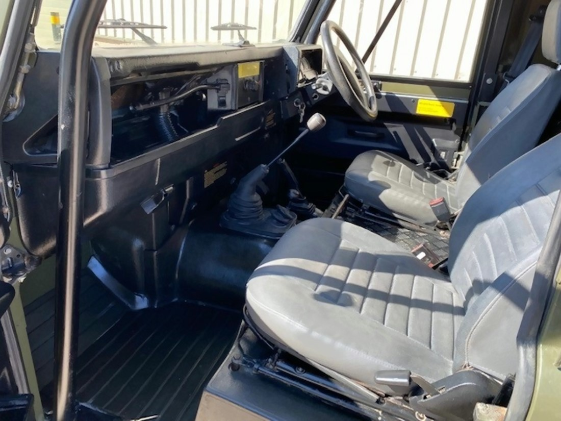 Land Rover Defender 90 Wolf RHD Soft Top (Remus)   used military vehicles, MOD surplus for sale