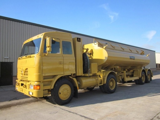 Foden 4380 MWAD 8x6 Watering Dust Suppression  Truck | used military vehicles for sale