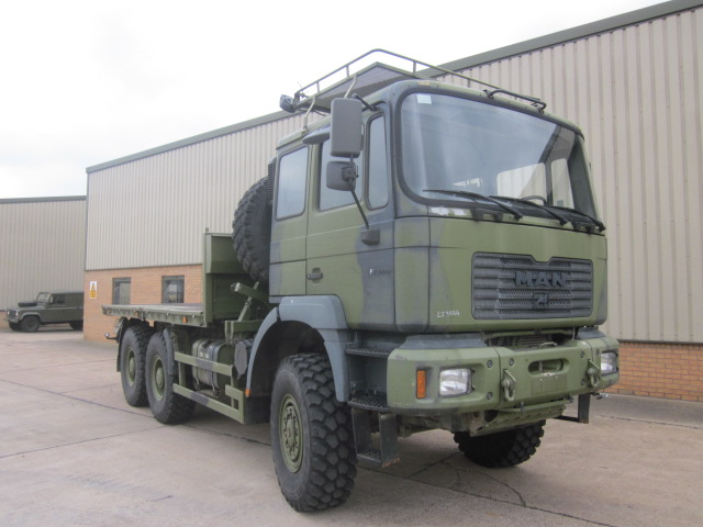 Man 27.310 6x6 cargo truck with twist locks | used military vehicles, MOD surplus for sale