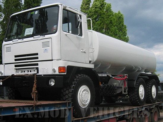 Bedford TM 6x6 14.000 lt tanker truck | Military Land Rovers 90, 110,130, Range Rovers, Mercedes for Sale