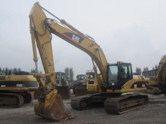 WAS SOLD Caterpillar 324 DL tracked excavator