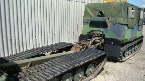 Hagglund BV206  soft top with ammo body  military for sale