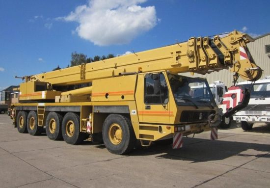 Grove GMK 5130 130 ton 5 axle all terrain military crane |  EX.MOD direct sales